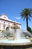 Tortuga lub żółw fontanna, Avenida Ramon de Carranza, Cadiz, Sp Obraz Royalty Free