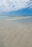 Tortuga strand Arkivfoto