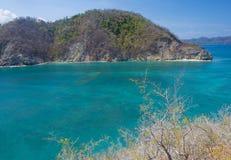 Tortuga wyspa, Costa Rica Zdjęcie Royalty Free