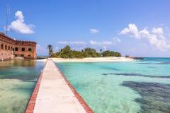 Tortugas sec le Golfe du Mexique Photo libre de droits
