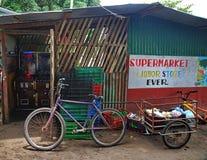 Tortuguero,哥斯达黎加杂货店 库存照片