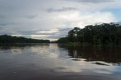 Tortuguero. Canals and jungle, Costa Rica stock photography