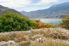 Tortum Lake. Erzurum province, Turkey Stock Images