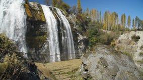 Tortum waterfall in Eastern Anatolia.Turkey stock video footage