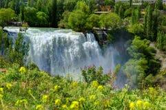 Tortums-Wasserfall, Erzurum, die Türkei stockbilder