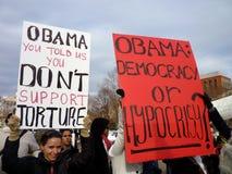 Tortura e hipocresía Fotos de archivo