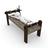 Torture bench Stock Images