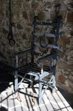 Torture chair Stock Image