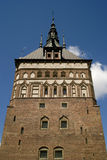 Torture chamber tower in Gdansk. Royalty Free Stock Photography