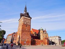 Torture House and Prison Tower in Gdansk, Poland Royalty Free Stock Image