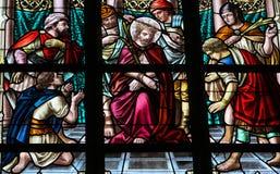 Torture of Jesus Stock Image