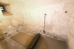 Torture room at Oberhofen Castle, Switzerland Royalty Free Stock Photography