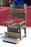 Torturer's chair Stock Images