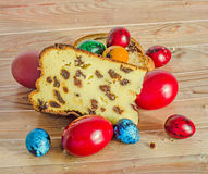 Torty dzwonili Pasca robią z serem i rodzynkami, tradycyjny col Zdjęcia Royalty Free
