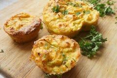 Torty, muffins warzywa Obraz Stock