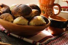 Torty z plombowaniami Rocznik Babcia w domu Zdjęcie Stock