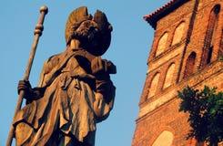 "ToruÅ "",波兰Nowy的Rynek城镇厅 库存照片"