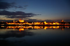 Toruńska linia horyzontu Obrazy Royalty Free