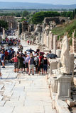 Toruists no izmir-peru do ephesus- Fotografia de Stock