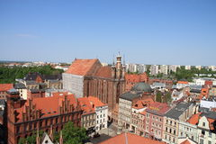 Torun. View of Torun, one of the oldest cities in Poland Royalty Free Stock Photography