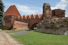 Torun Castle Stock Photography
