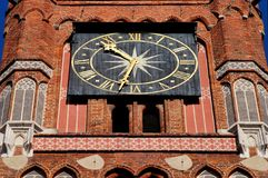 Torun City - Clock Royalty Free Stock Photos