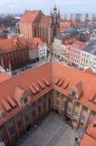 Torun cityscape Royalty Free Stock Image