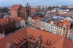 Torun cityscape Royalty Free Stock Photos