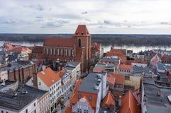 Torun cityscape Stock Photography