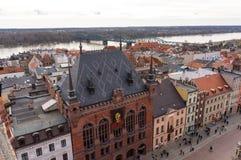 Torun cityscape Stock Photos