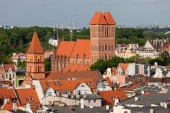 Torun Cityscape Stock Image