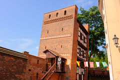 Torun leaning tower Stock Photography