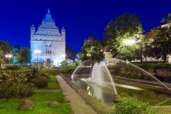 Torun old town at night Royalty Free Stock Images