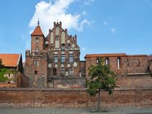 Torun. Old town in Poland Stock Images
