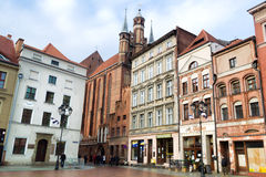 Torun is one of the oldest cities in Poland Stock Photo