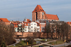 Torun.Poland. Poland.The City Of Torun.The birthplace of the Polish mathematician Copernicus royalty free stock images