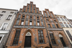 TORUN, POLAND - MAY 18, 2016: House of Nicholas Copernicus (Dom Royalty Free Stock Images