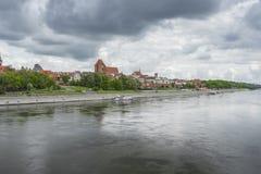 TORUN, POLAND - MAY 18, 2016: Torun in Poland, Old Town skyline, stock photos