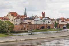 TORUN, POLAND - MAY 18, 2016: Torun in Poland, Old Town skyline, Royalty Free Stock Photo