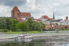 TORUN, POLAND - MAY 18, 2016: Torun in Poland, Old Town skyline, Stock Photo