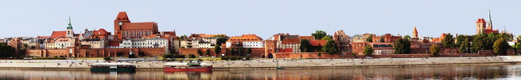 Torun, panorama of old city  Stock Photography