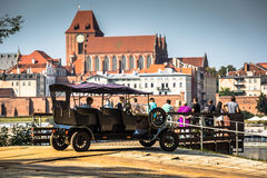 Torun in Poland, Old Town Royalty Free Stock Images