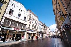 Torun, Poland, old town street stock photos