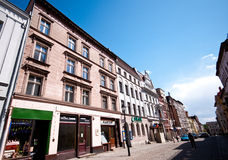 Torun, Poland, old town street Stock Images