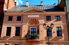 Torun, Poland: 18th Century Artus House Stock Images