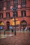2017 10 20 Torun Poland, vieja plaza del mercado en Torun Torun es las ciudades más viejas de Polonia, lugar de nacimiento del as Fotos de archivo