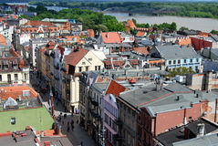 Torun, Poland: View of the City Stock Photo