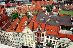 Torun, Poland: View of Old Town Royalty Free Stock Image