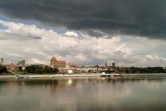 Torun, Polen. Stock Afbeeldingen