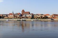 Torun in Polen lizenzfreie stockbilder